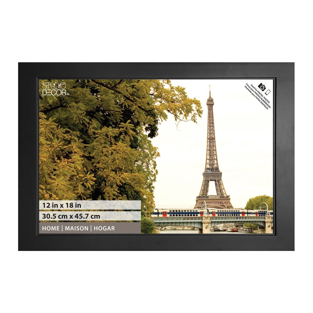 Black Studio Home Collection Frame by Studio Décor®