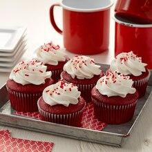 Canada Day Cupcakes, medium
