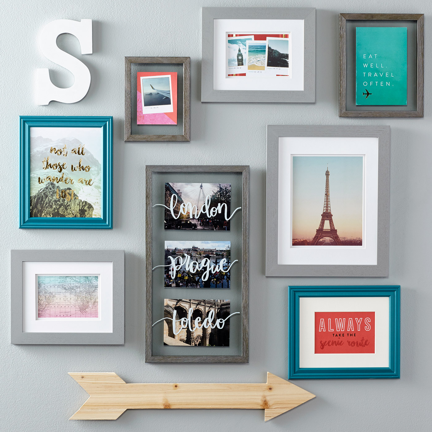Memory Floating Travel Frame