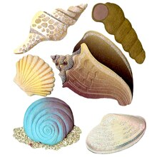 Jolee's Boutique Seashell Stickers