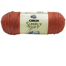 Caron Simply Soft Yarn, Persimmon