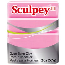 Sculpey III Oven-Bake Clay, Dusty Rose