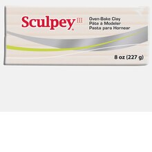 Sculpey III Oven-Bake Clay, 8 oz. Translucent