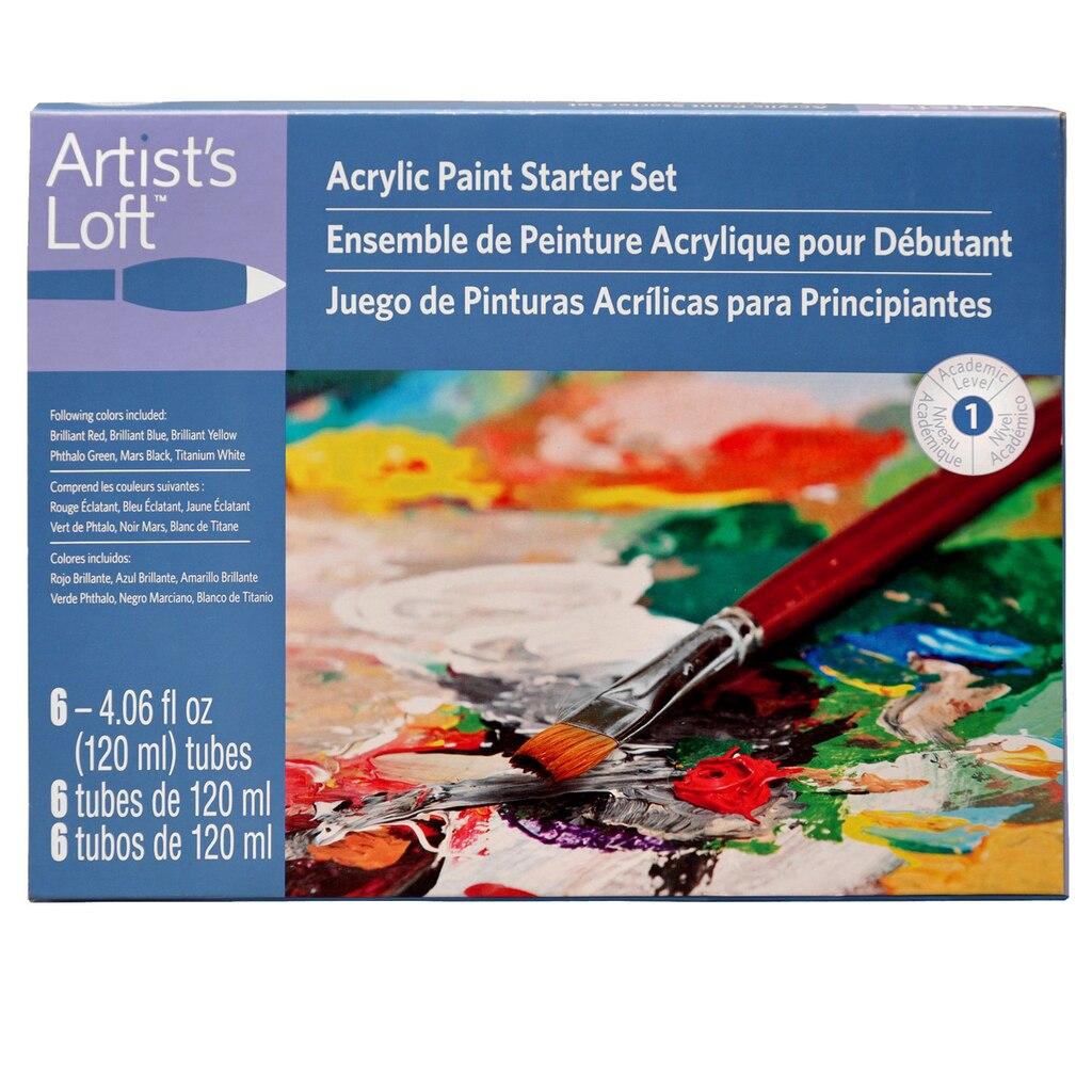 Artist S Loft 174 Acrylic Paint Starter Set
