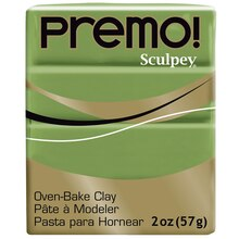 Premo! Sculpey® Oven Bake Clay,2oz  Spanish Olive