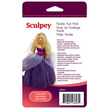 Sculpey Flexible Push Mold, Woman