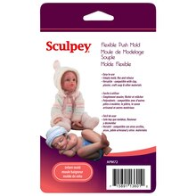 Sculpey Flexible Push Mold, Infant
