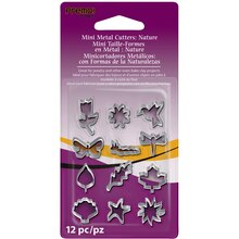 Premo! Sculpey Mini Metal Cutters, Nature