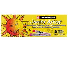 Cray-Pas Junior Artist Oil Pastel Set, 25 Count