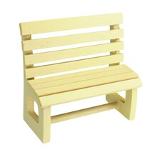 Sparrow Innovations Miniatures Wood Bench