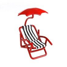 Sparrow Innovations Miniatures Metal Umbrella Chair