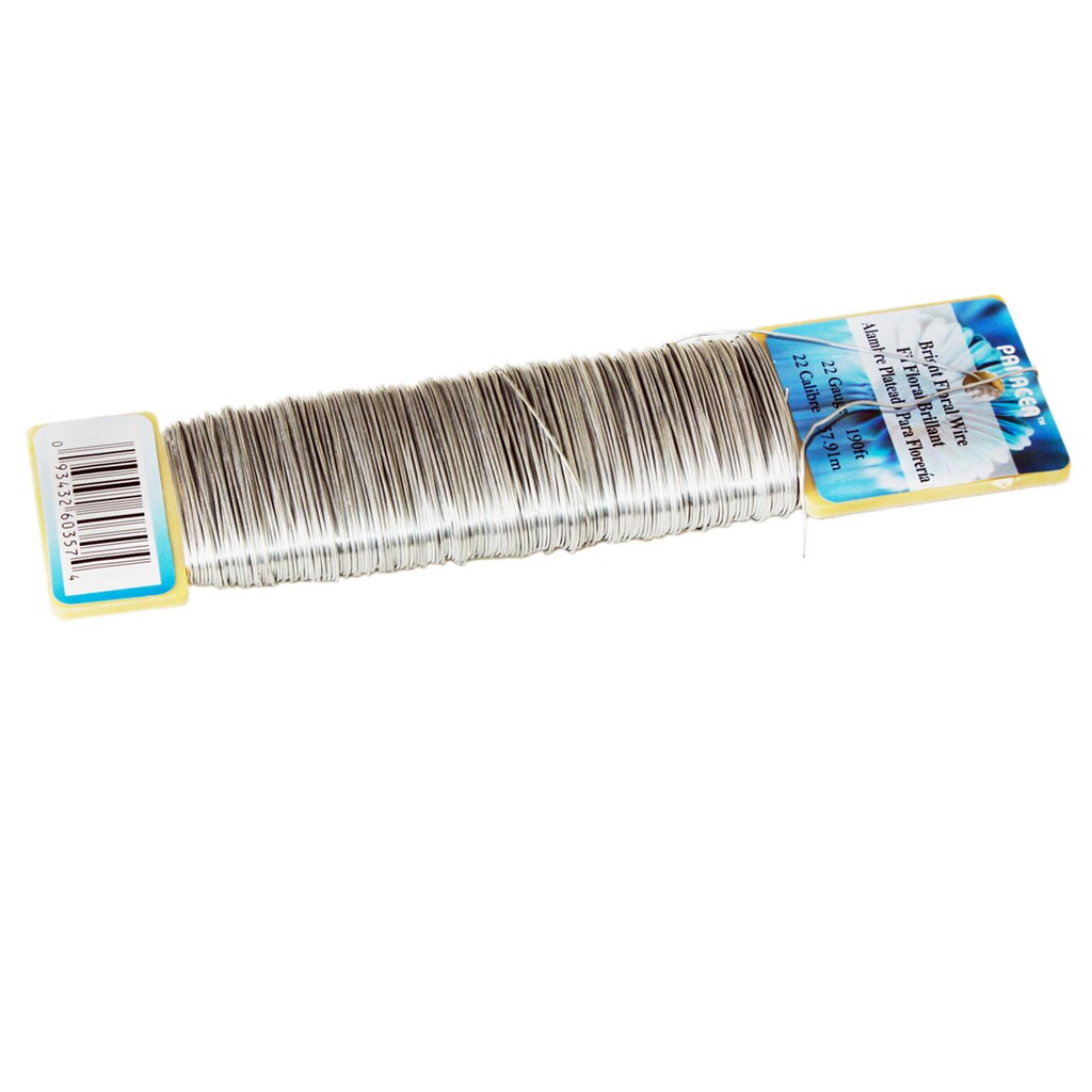 Panacea™ Floral Wire, 22 Gauge Silver
