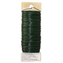 Panacea Green Floral Wire,  24 Gauge