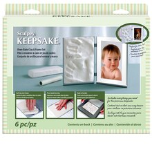 Sculpey Keepsake Oven Bake Clay and Frame Set