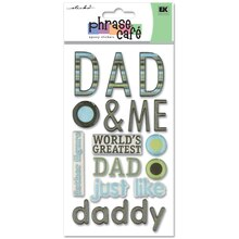 Sticko Dad and Me Epoxy Stickers