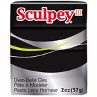 Sculpey III Oven-Bake Clay, 2 oz. Black