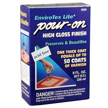 EnviroTex Lite Pour-On High Gloss Finish, 8 oz.