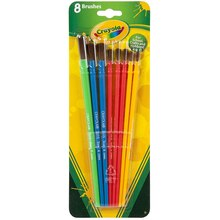 Crayola Art & Craft Brush Set, 8 Count
