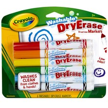 Crayola Washable DryErase Broad Line Markers
