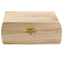 ArtMinds Curved Sides Wooden Box, Closed