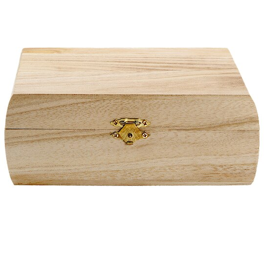 Artminds 174 Curved Sides Wooden Box