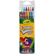 Crayola Erasable Twistables Colored Pencils, 12 Count
