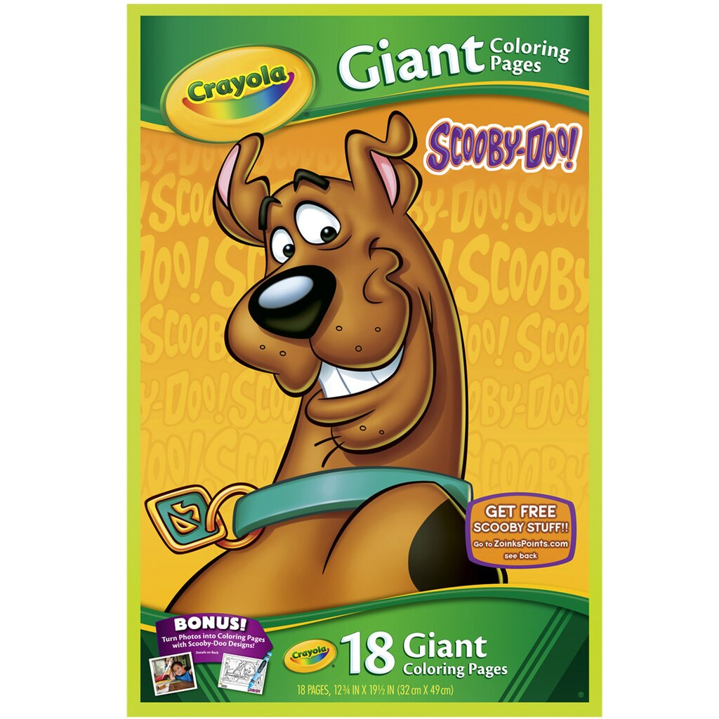 Crayola Giant Coloring Pages Mattel Assortment