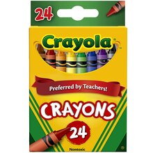 Crayola Boxed Crayons, 24 count