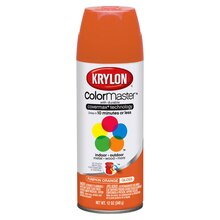 Krylon ColorMaster Gloss Enamel, Pumpkin Orange