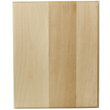 ArtMinds Basswood Rectangle Plaque, 8 in x 10 in