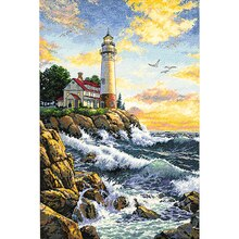 Dimensions Counted Cross Stitch Kit, Rocky Point