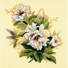 Dimensions Crewel Embroidery Kit, Hibiscus Floral