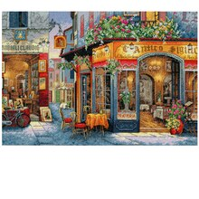 Dimensions Counted Cross Stitch Kit, European Bistro