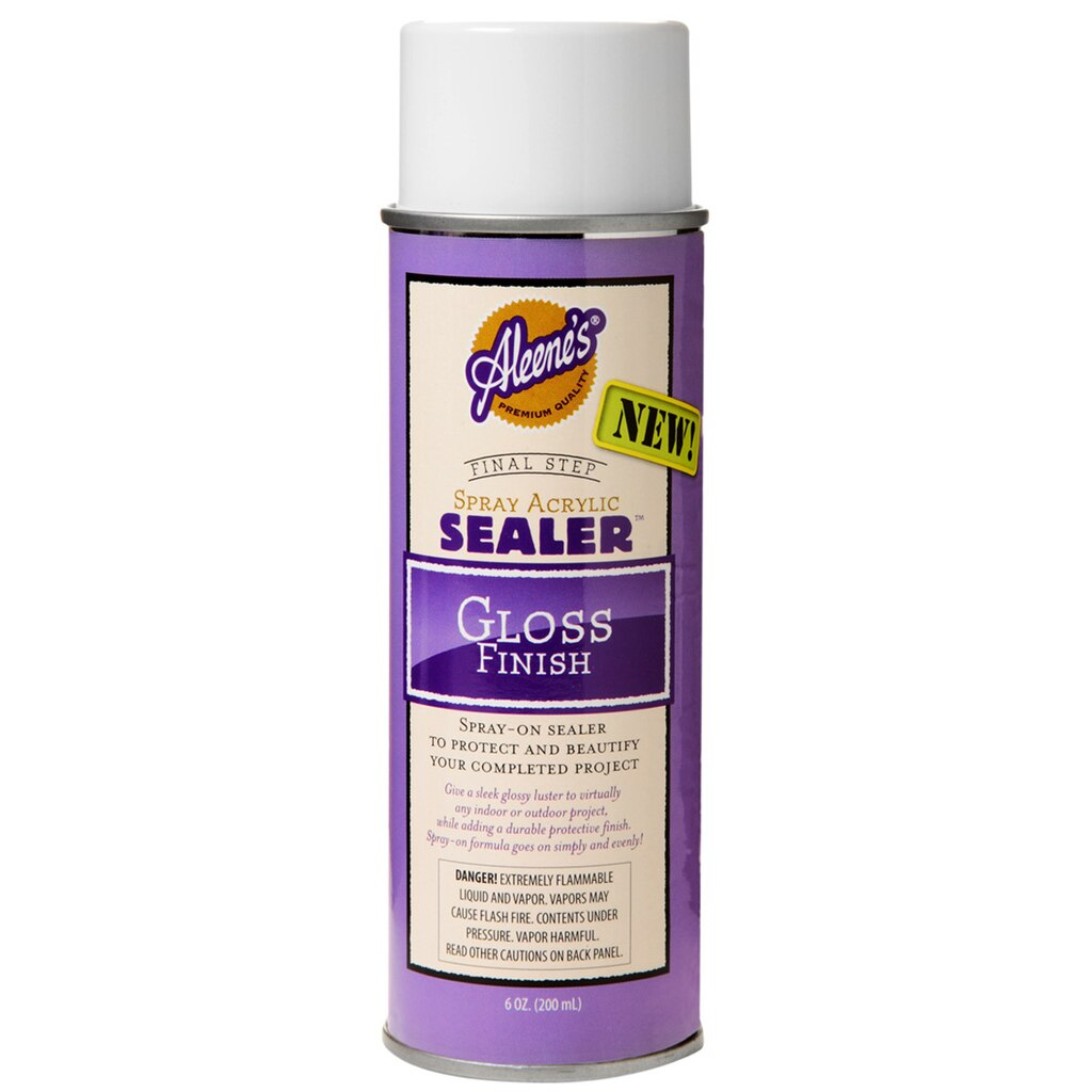 aleene 39 s spray acrylic sealer gloss finish
