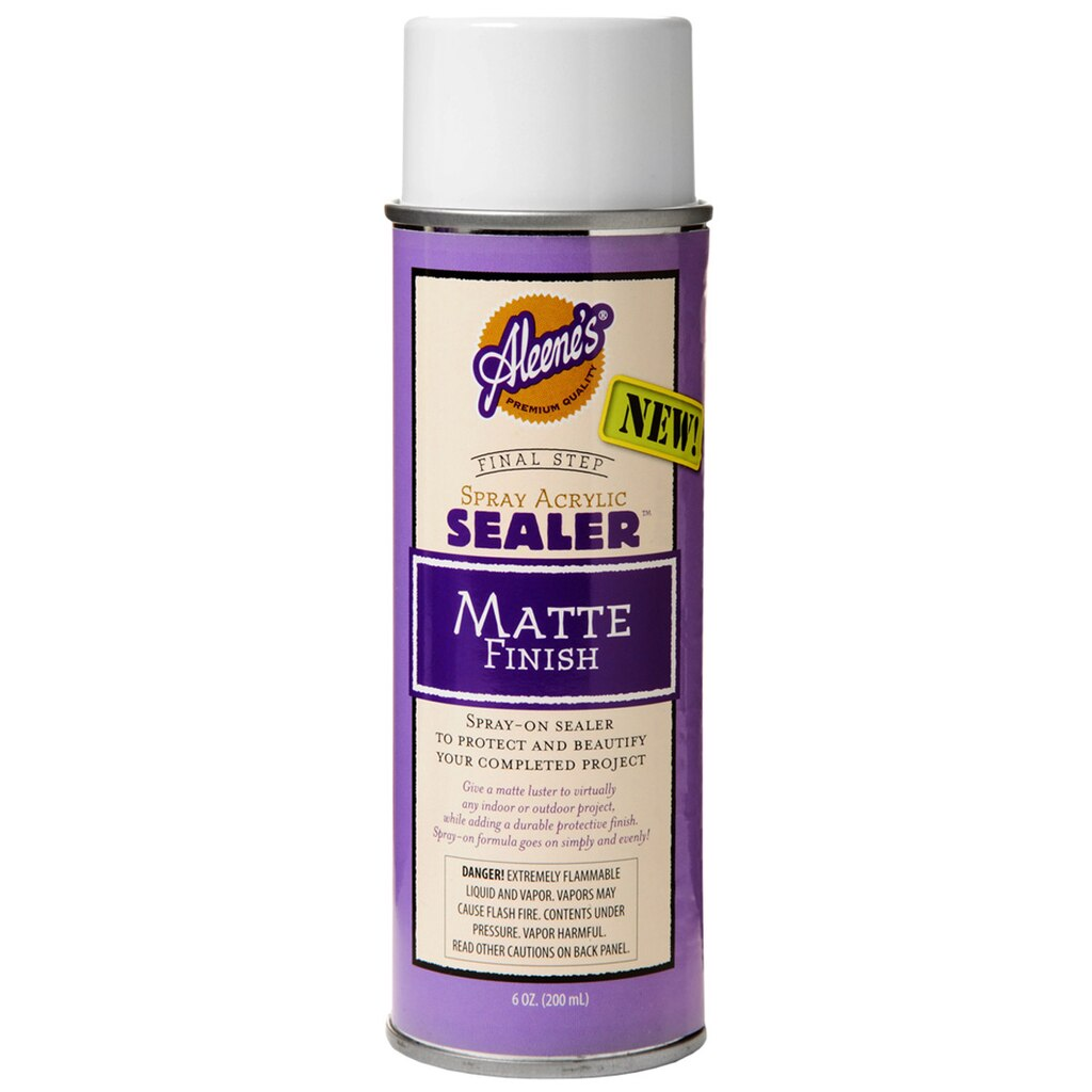 Aleene S 174 Spray Acrylic Sealer Matte Finish
