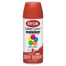 Krylon ColorMaster Satin Enamel, Pimento