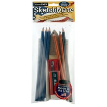 General's SketchMate Graphite and Charcoal Drawing Kit