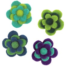 Dimensions Feltworks Layered Cool Felt Flowers