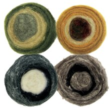 Dimensions Earth Tone Roving Rolls