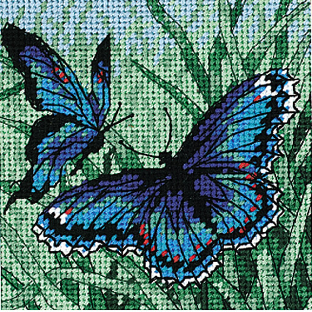 Dimensions® Needlepoint Kit, Butterfly Duo