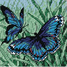 Dimensions Needlepoint Kit, Butterfly Duo