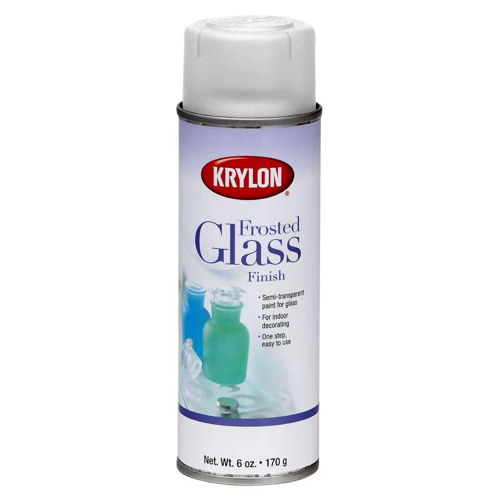 Krylon frosted glass finish for Mirror spray paint