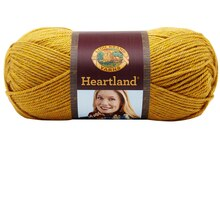 Lion Brand Heartland Yarn, Yellowstone
