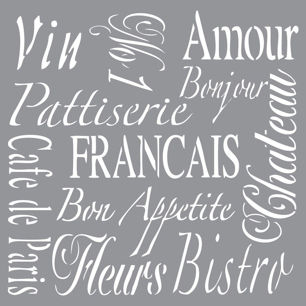 Buy The Americana 174 Decor 174 Stencil French Living At Michaels