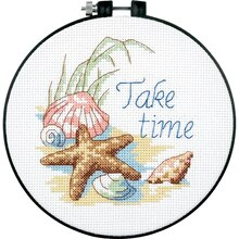 Dimensions Counted Cross Stitch Kit, Take Time