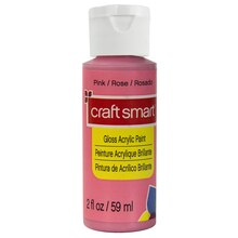 Craft Smart Acrylic Paint, Pink