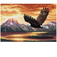 Dimensions Counted Cross Stitch Kit, Silent Flight