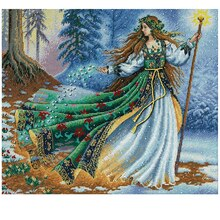 Dimensions Counted Cross Stitch Kit, Woodland Enchantress