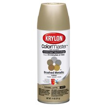Krylon ColorMaster Brushed Metallic