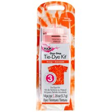 Tulip One-Step Tie-Dye Kit Package, Orange